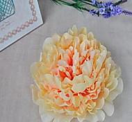 Недорогие -1 Филиал Волокно Пионы Букеты на стол Искусственные Цветы