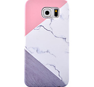 For Samsung Galaxy S8 Plus S8 Case Cover Marble Pattern HD Pattern PC Material Skin Care Touch Decal Phone Case S7 Edge S6 Edge S7 S6