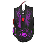 USB Optical Mouse LED Gaming Mouse 7 Buttons Backlit Wired Computer Mouse Adjustable 3200DPI PC Mouse Gamer for Laptop1200 / 1600 / 2400