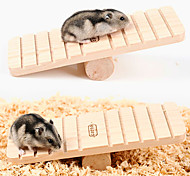 cheap -Chinchillas Hamster Wood Portable Exercise Wheels