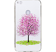 For Huawei P8 Lite(2017) P10 Case Cover Tree Pattern Luminous TPU Material IMD Process Soft Case Phone Case P10 Lite P9 Lite P8 Lite