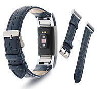 cheap -Watch Band for Fitbit Charge 2 Fitbit Sport Band Milanese Loop Leather Wrist Strap
