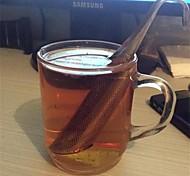 Недорогие -1шт сетчатый удивительный нержавеющей стали чай infuser дизайн трубы сенсорный чувствовать себя хорошо инструмент для чая