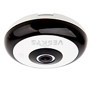 cheap -VESKYS® 360 Degree HD Full View IP Network Security WiFi Camera/1.3MP FishEye