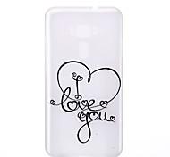 For Asus Zenfone 3 ZE520KL ZE552KL Love Pattern Relief Luminous TPU Material Phone Case