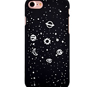 cheap -Case For Apple iPhone 8 iPhone 8 Plus Pattern Back Cover sky Scenery Hard PC for iPhone 8 Plus iPhone 8 iPhone 7 Plus iPhone 7 iPhone 6s