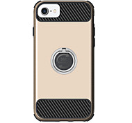 For Apple iPhone 7 7 Plus 6S 6 Plus Case Cover The New Solid Color Drop Armor Invisible Stent PC TPU Combo Phone Case