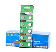 TMMQ AG10 Coin & Button Cell Alkaline/Alkaline Battery 1.55V 40 Pack