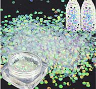 1bottle Nail Art Decoration Rhinestone Pearls Makeup Cosmetic Nail Art Design