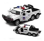 Недорогие -Игрушечные машинки Модель авто Полицейская машинка Игрушки моделирование Игрушки Металлический сплав пластик Сплав металла Металл 1 Куски