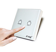Fyw touch controlador remoto cheio e cheio de um controle remoto controla todas as luzes match receiver use