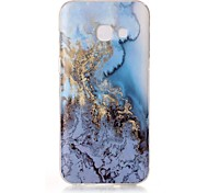 For Samsung Galaxy A5 (2017) A3 (2017) Case Cover Marble High - Definition Pattern TPU Material IMD Technology Soft Package Mobile Phone Case