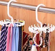 Недорогие -пластик Овал Открытые Главная организация, 1шт Вешалки для галстуков