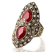 Women's Statement Rings Ring Unique Design Costume Jewelry Fashion Vintage Personalized Euramerican Luxury Statement Jewelry Resin Alloy