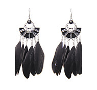 cheap -Women's Drop Earrings - Unique Design Logo Style Turkish Fashion Gothic Wings / Feather For Wedding Party Special Occasion Anniversary