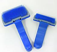 Gatto Cane Toelettatura Assistenza sanitaria Pulizia Pennello Kit per toletta Elastici Set da bagno Ompermeabile Portatile Silenzioso Blu