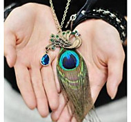 Муж. Жен. Ожерелья-бархатки Ожерелья с подвесками Ожерелья-цепочки Бижутерия В форме животных Сплав Базовый дизайн Уникальный дизайн В