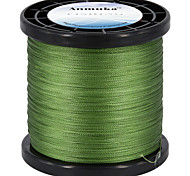 cheap -Anmuka New 4 Stands 1000M 10-80LB Brand Fishing Lines Super Strong Japanese Multifilament 100% PE Braided Fishing Line