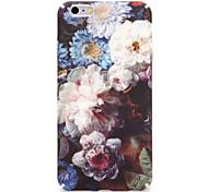 Недорогие -Для яблока iphone 7 7plus чехол обложка задняя обложка футляр цветок твердый pc 6s plus 6 plus 6s 6