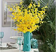 Недорогие -1 Филиал Шелк Другое Хризантема Букеты на стол Искусственные Цветы