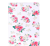 For Apple iPad Mini 4 3 2 1 Case Cover Flower Pattern Card Stent PU Material Flat Protection Shell