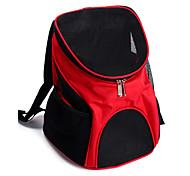 Недорогие -Кошка Собака Переезд и перевозные рюкзаки Животные Корпусы Компактность Дышащий Однотонный Коричневый Красный Синий Черный