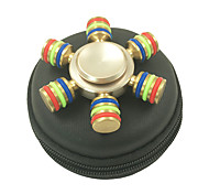 Fidget Spinner Hand Spinner Toys Six Spinner Metal EDCStress and Anxiety Relief Office Desk Toys Relieves ADD, ADHD, Anxiety, Autism for