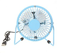 360 - Degree Rotating Usb Small Fan Mini Fan 4 Inch Aluminum Students Ultra-Quiet Usb Fan