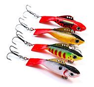 "cheap -1 pcs Fishing Lures Hard Bait g / Ounce mm / 2-1/4"" inch, Soft Plastic Lead Sea Fishing Spinning Jigging Fishing Freshwater Fishing"