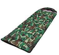 Schlafsack Rechteckiger Schlafsack 0 ° C Daune warm halten Tragbar 175X140 Wandern Camping Einzelbett(150 x 200 cm)