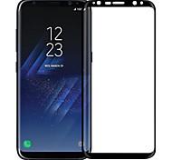 Недорогие -Защитная плёнка для экрана Samsung Galaxy для S8 Закаленное стекло 1 ед. Защитная пленка на всё устройство Взрывозащищенный Уровень