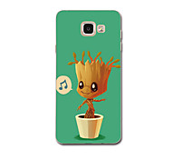 For Case Cover Ultra Thin Pattern Back Cover Case Cartoon Soft TPU for Samsung A3(2017) A5(2017) A7(2017) A7(2016) A5(2016) A8