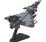 Недорогие -Игрушечные машинки Наборы для моделирования Самолёт Игрушки Летательный аппарат Металл Куски Универсальные Подарок