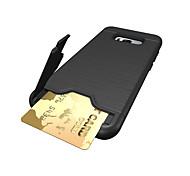 Недорогие -Кейс для Назначение SSamsung Galaxy S8 Plus S8 Бумажник для карт Защита от удара Задняя крышка Сплошной цвет Твердый PC для S8 S8 Plus