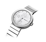 Женские Модные часы Японский Японский кварц / сплав Группа Повседневная Серебристый металл Розовый