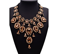 cheap -Women's Alloy Statement Necklace - Synthetic Gemstones Alloy Euramerican Fashion Others Necklace For Party Gift