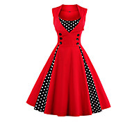 9226c47190d2 cheap -Women's Plus Size Party Holiday Going out Vintage 1950s A