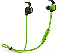Écouteurs bluetooth écouteurs de sport sans fil stéréo basse avec crochet pour l'oreille micro-voix sonore mains libres dsp réduction de
