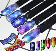 abordables -16 Autocollants 3D pour ongles Produits DIY 3D Mode Quotidien Haute qualité