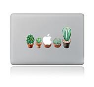 Недорогие -1 ед. Защита от царапин Цветочные/ботанический Прозрачный пластик Стикер для корпуса Узор ДляMacBook Pro 15'' with Retina MacBook Pro 15