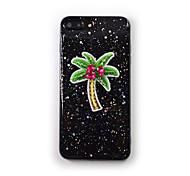Недорогие -Для apple iphone 7 плюс 7 крышка корпуса текущая жидкость прозрачный узор задняя крышка чехол дерево мягкий силикон для iphone 6s плюс 6