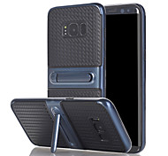 For Samsung Galaxy A3(2017) A5(2017) Case Cover The with Stand TPU with Plastic Frame for A7(2017)