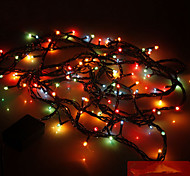 Decor Lights 5M 100 Led Colorful Light  Party Home Art Decoration Flash Lights