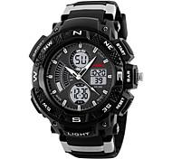 Men's Wrist watch Digital Watch Sport Watch Dress Watch Fashion Watch Chinese Digital Calendar Chronograph Silicone Band Charm Creative
