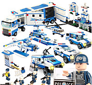 cheap -SHIBIAO Building Blocks 1040 pcs DIY Warship Plane / Aircraft Police Unisex Gift