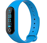 cheap -Smart Bracelet Touch Screen Heart Rate Monitor Calories Burned Pedometers Exercise Record Distance Tracking Information Message Control