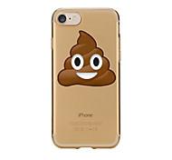 Für iPhone X iPhone 8 Hüllen Cover Transparent Muster Rückseitenabdeckung Hülle Cartoon Design Weich TPU für Apple iPhone X iPhone 8 Plus
