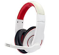 cheap -soyto Over Ear Headband Wired Headphones Balanced Armature Plastic Gaming Earphone with Volume Control with Microphone Noise-isolating