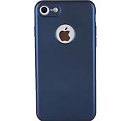 Недорогие -Кейс для Назначение Apple iPhone 7 Plus iPhone 7 Защита от пыли Чехол Сплошной цвет Мягкий ТПУ для iPhone 7 Plus iPhone 7 iPhone 6s Plus