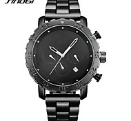 Men's Men's Sport Watch Fashion Watch Wrist watch Chinese Quartz Calendar / date / day Water Resistant / Water Proof Stopwatch Imitation